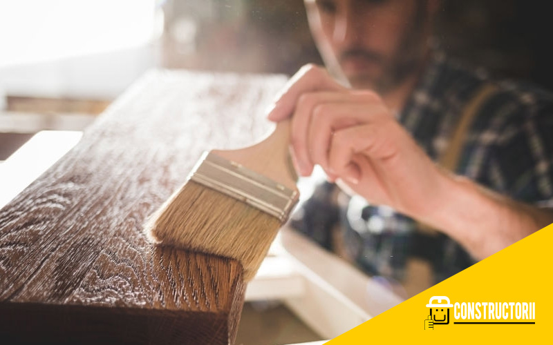 Process of Staining Wood in Cold Weather