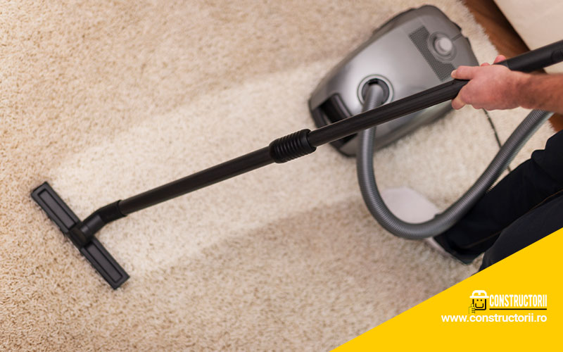 Easiest Steps for Carpet Cleaning Process