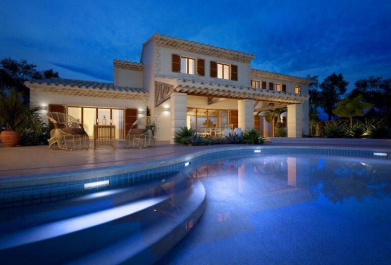 Traditional Luxury Villas