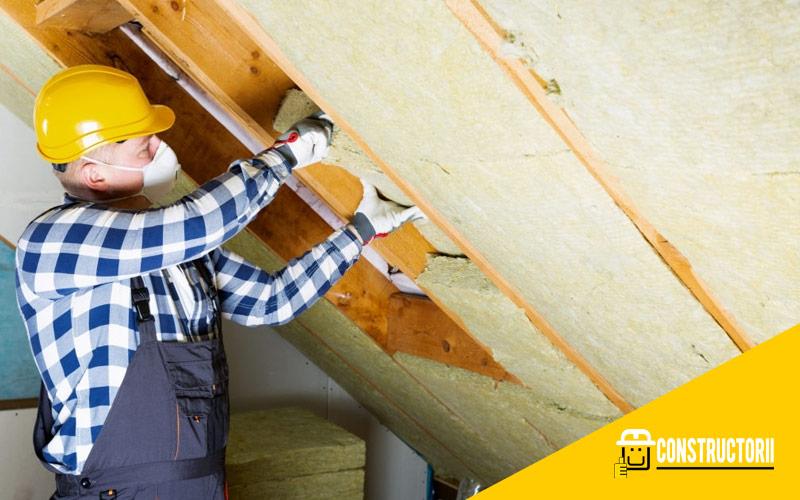 caracteristici si solutii de izolare a tavanului